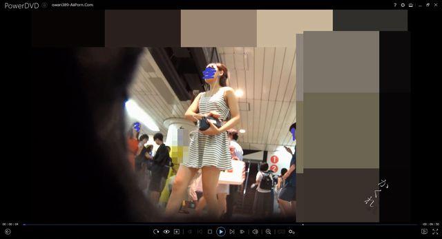 pcolle kakurega パンチラ小人目線☆☆(pa-to389)[電車編]