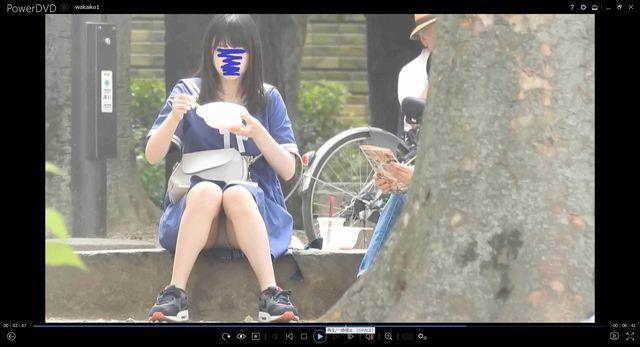 pcolle YUKI 新タイトルです!!(FHD)大変です!!私服姿の若いコちゃんのパンツが見えてますよ1