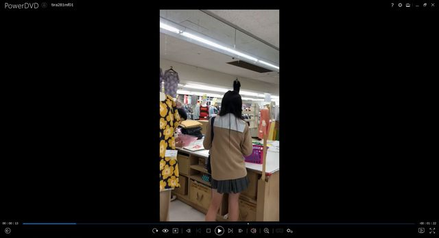 pcolle ちらねっと JK風の逆さパンチラ動画 画像付き 179