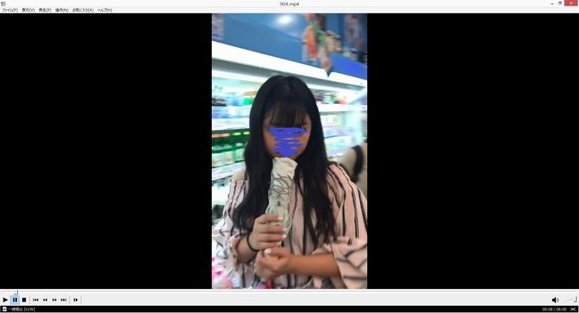 pcolle わんぱく液 ガチSSS級美少女の逆さ撮りが撮れてしまった・・・【4k画質】