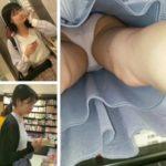 【Pcolle エデン33さん レビュー】逆さ撮り スカートにぶっこみをしてみたNo.12【顔撮りあり】