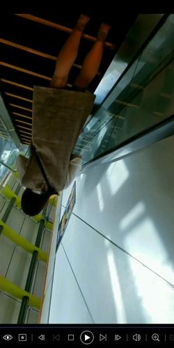 pcolle エデン33 逆さ撮り スカートにぶっこみをしてみたNo.12【顔撮りあり】