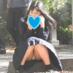 【Pcolle YUKIさん レビュー】驚愕!!乃木坂系の美少女発見!!(FHD)純白パンチラのKちゃん!!大変です!!パンツが見えてますよ特別編25