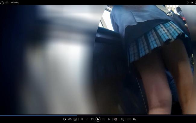 pcolle みどりの帽子 【スピンオフ】睨みまくりガール&生パンめくり
