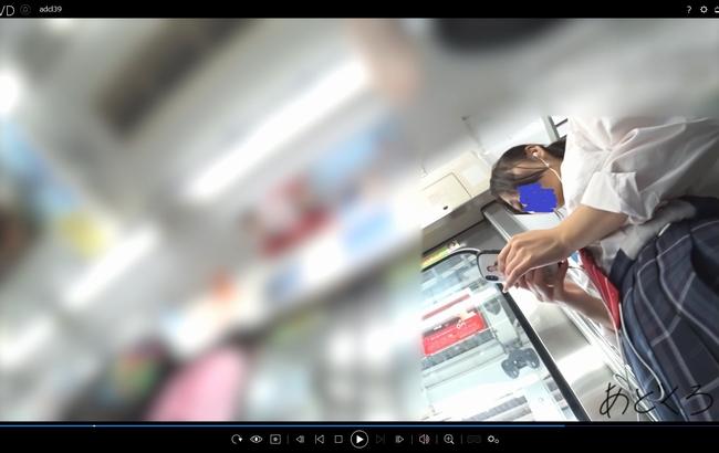 pcolle あどくろ【制服JK】さかさんぽ No.039 大人JKのおパンツ。久しぶりのソックス直しで丸いお尻を晒す!【顔出し】