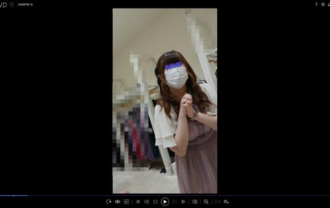 pcolle 上目遣い *2日連続撮り*【4K】ドレスショップ店員さんのエロの二面性!美少女から美女へパンティの移り変わりが愛おしい