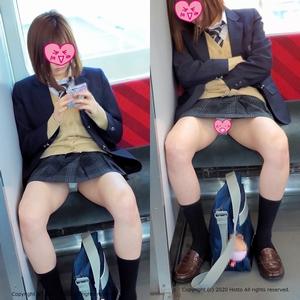 pcolle hotto【4K動画】Hottoな対面パンチラ Vol.1【制服JK】