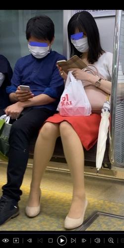 pcolle 怪盗1412 【彼氏持ち美人女子大生】美脚お姉さんのどエロいパンツを盗撮!JD カップル