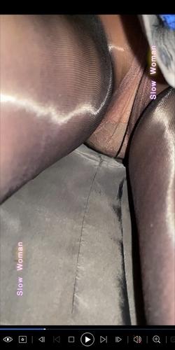 pcolle slow woman【超貴重】魅惑のCAさんSP33☆強烈光沢黒スト再び!長身美尻ピンクPに大悶絶^ ^