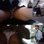 【Pcolle 龍が五徳さん レビュー】【Upskirting Girls7】 制服k6名