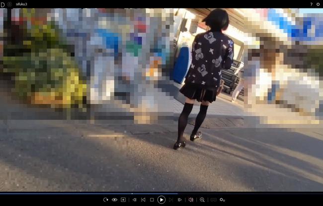 pcolle サマースカイ 粘着撮り!私服3人オムニバス!(やばいの撮れました)