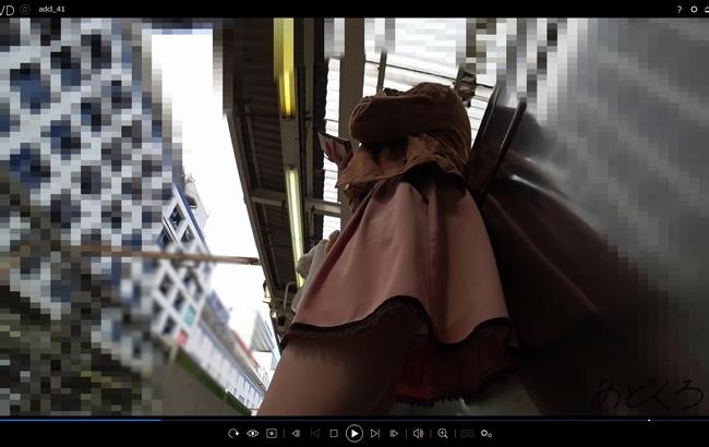pcolle あどくろ 【私服JD】さかさんぽ No.041 アニメのヒロインみたいなJD。無警戒過ぎてパンツ撮り放題タイム突入!【顔出し】