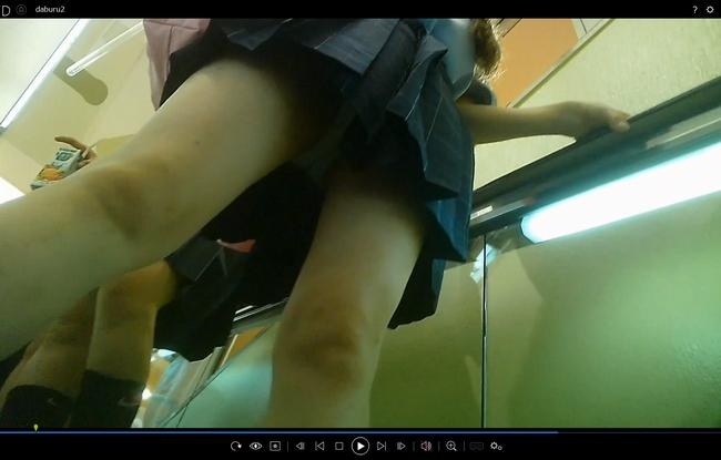 pcolle サマースカイ JKちゃん逆さスマホ突っ込みを撮影!+プリクラ、粘着撮影
