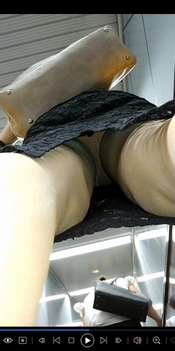 pcolle うに 逆さめくり動画18~タイトスカート・スーツ~