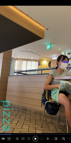 pcolle pizza【動画】ロリロリC1 開脚めくり