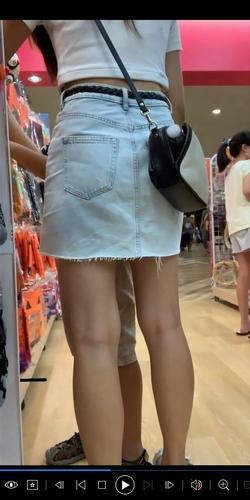 pcolle ppffuull 女子逆さ盗撮風VOL.9