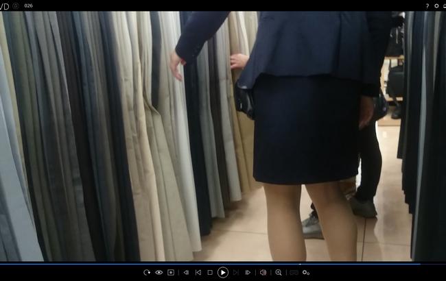 pcolle チラリズム 働くお姉さん26 スーツ販売員
