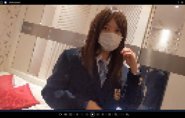 pcolle サマースカイ【パパ活撮り前編】青チェちゃんの無防備逆さ