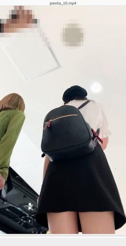 pcolle ぴえんた #10 私服JKちゃんのフロント、バックを交互に新撮影法で!プリクラまで案内してくれるゆるゆる娘のピンクP。