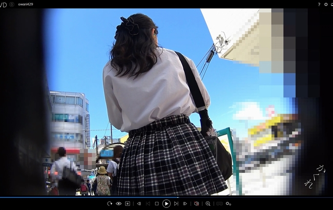 pcolle kakurega パンチラ小人目線☆☆(pa-to429)[強風編]