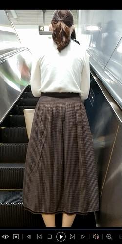 pcolle ピーコレ うに 逆さめくり動画29~ロンスカ編~